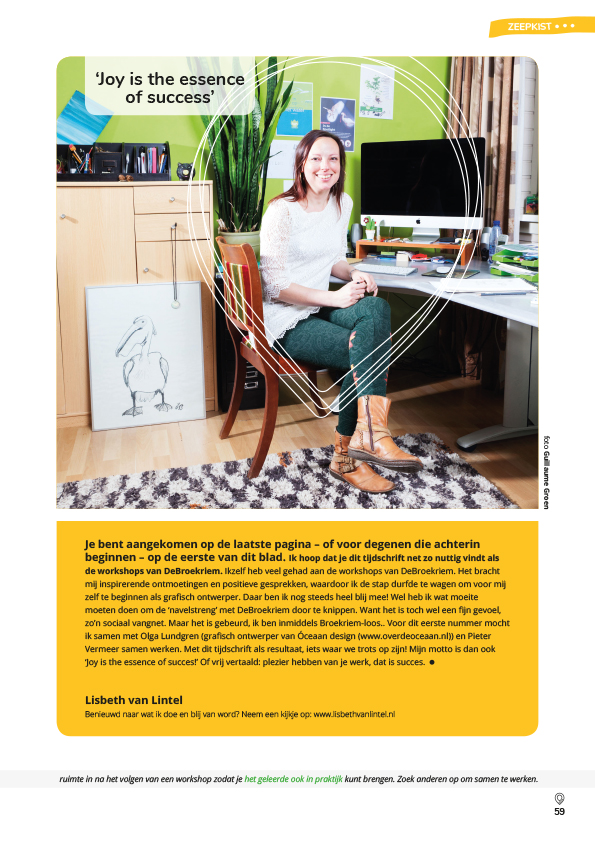 Lisbeth van Lintel De Broekriem 2018