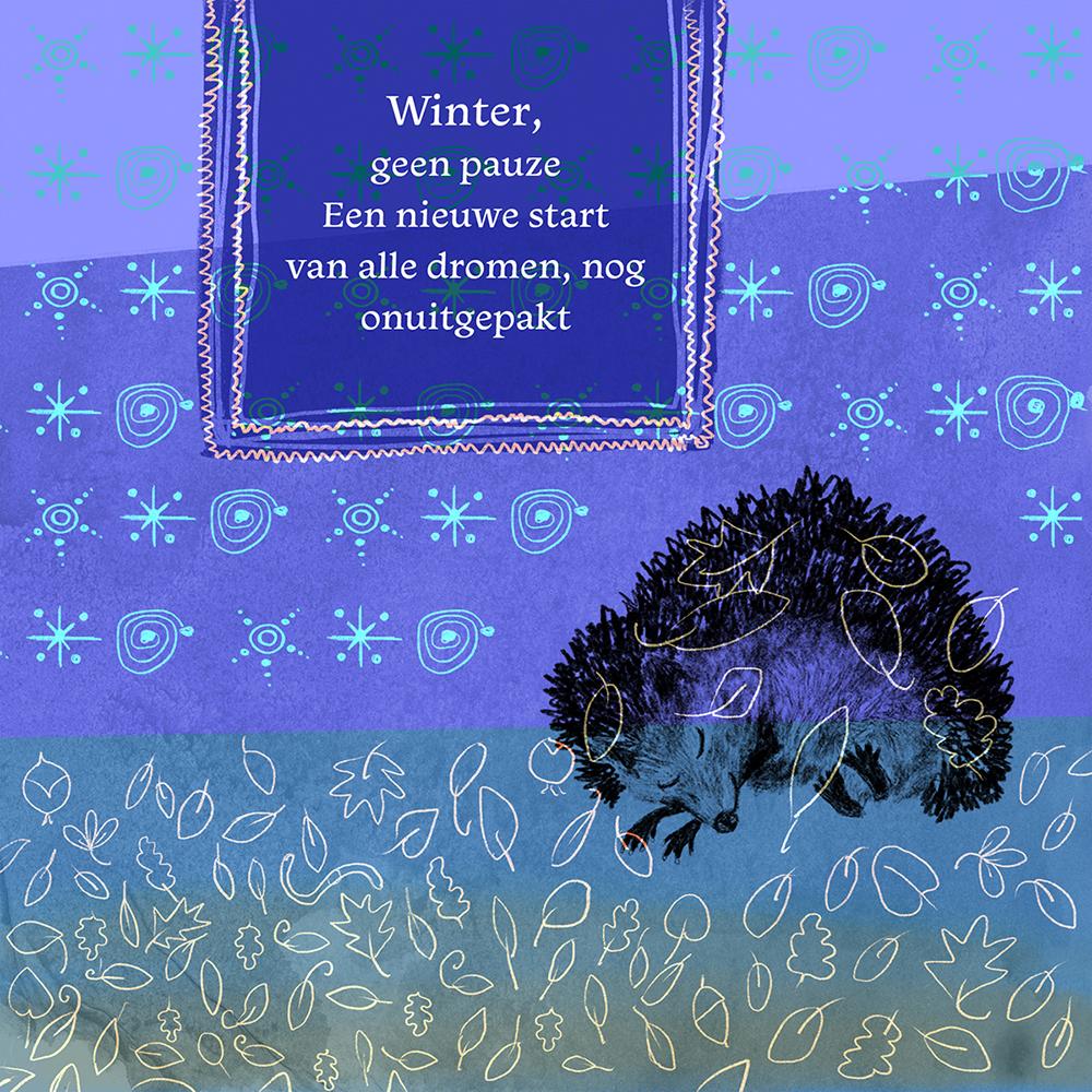 Lisbeth van Lintel Wintergroet 2018