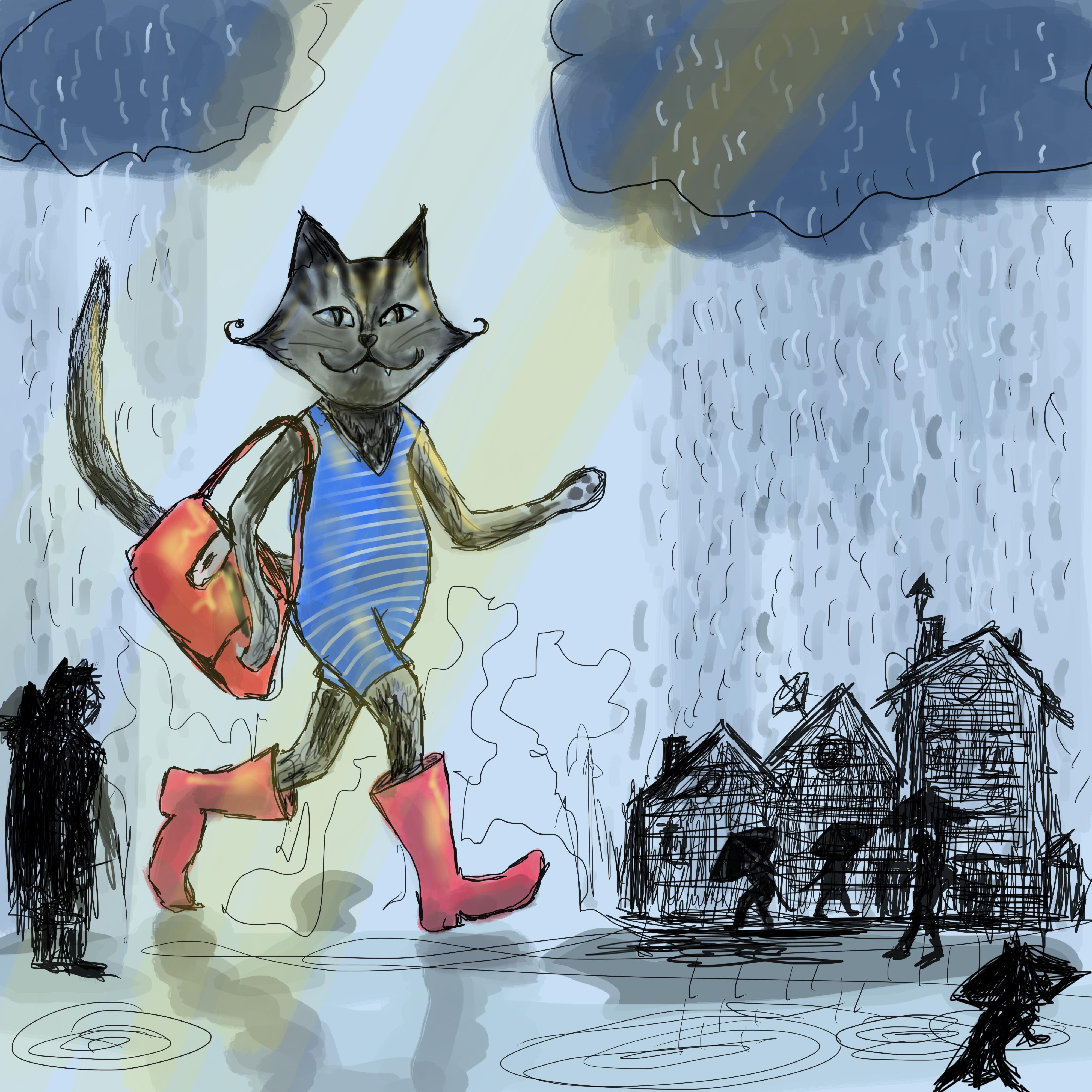 Lisbeth van Lintel blue cat