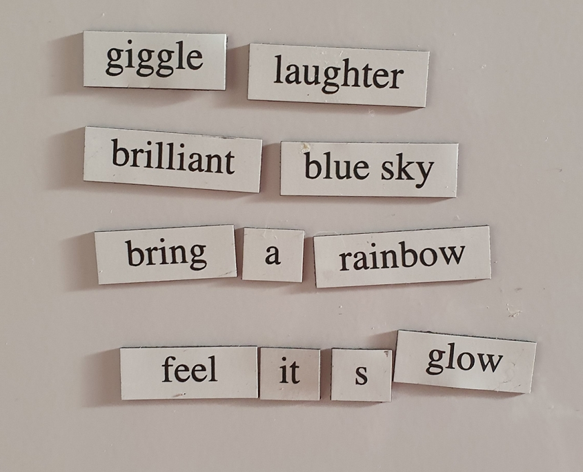 fridge poem